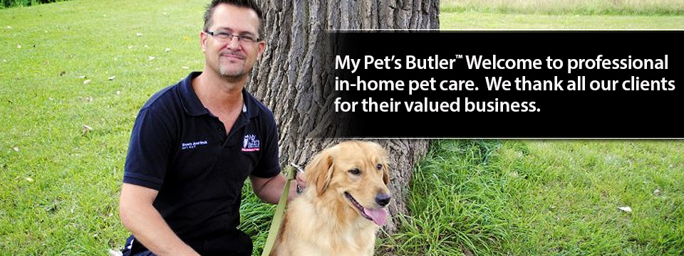 My Pet's Butler Welcome 2014